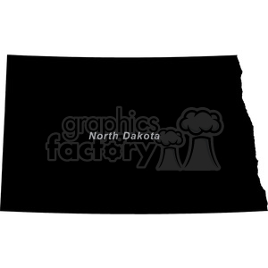 ND-North Dakota clipart. Commercial use image # 383789