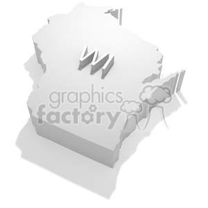 Wisconsin clipart. Royalty-free image # 383800