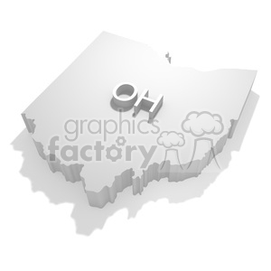 Ohio clipart. Royalty-free image # 383805