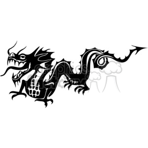 Chinese dragons clipart. Royalty-free image # 383858