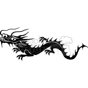 chinese dragons 026 clipart. Royalty-free image # 383863