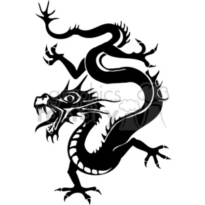 chinese dragon image clipart. Commercial use image # 383883