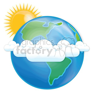 vector Earth clipart. Royalty-free image # 383966