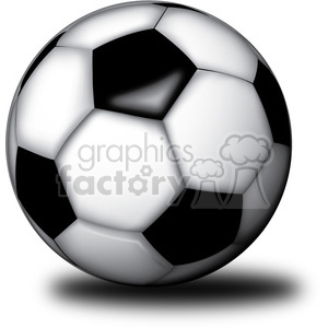 realistic RG vector clipart soccer ball sports