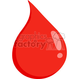 cartoon-drop-of-blood clipart. Commercial use image # 384281