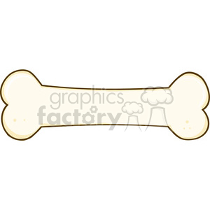 cartoon-bone clipart. Royalty-free image # 384359