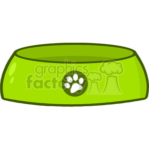 4793-Royalty-Free-RF-Copyright-Safe-Dog-Bowl clipart. Royalty-free image # 384524