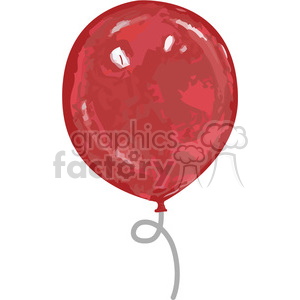red balloon animation. Royalty-free animation # 384568