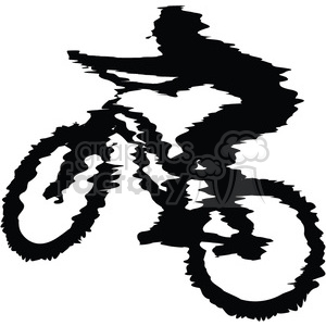 mountain biker clipart. Commercial use icon # 384573