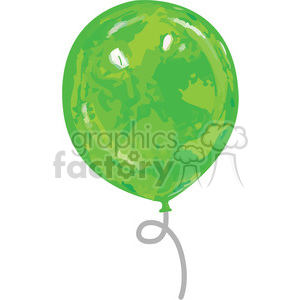 green balloon animation. Commercial use animation # 384583