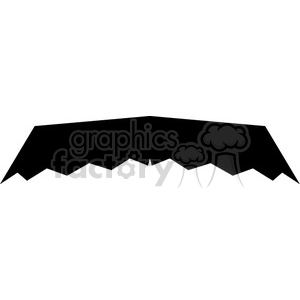 mustache clipart. Royalty-free image # 384633