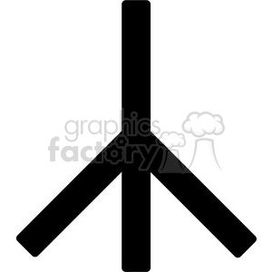 peace symbol lines clipart. Commercial use image # 384638