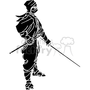 ninja clipart 025 clipart. Royalty-free image # 384673