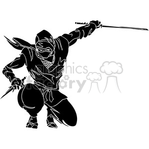 ninja clipart 048 clipart. Commercial use image # 384683