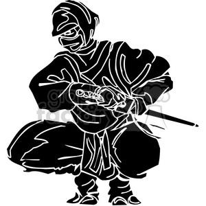 ninja clipart 011 clipart. Royalty-free image # 384698