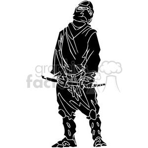 ninja clipart 017