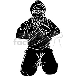 ninja clipart 031 clipart. Commercial use image # 384723