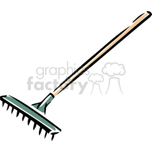 rake clipart. Commercial use image # 384934