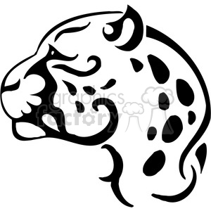 wild leopard 080 clipart. Commercial use image # 385424