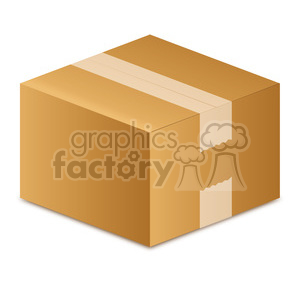 moving-box-vector-illustration-picture-white-tape 005 clipart. Royalty-free image # 385514