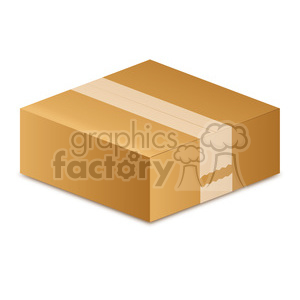 moving box clipart. Commercial use image # 385544