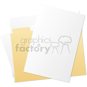 folder and files clipart. Royalty-free image # 385574
