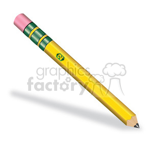 pencil illustration clipart. Royalty-free image # 385584