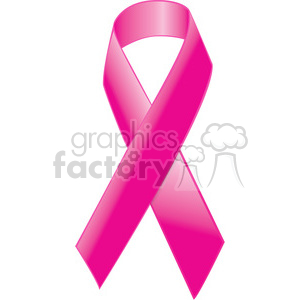 breast cancer pink ribbon clipart. Royalty-free image # 385604