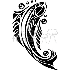 abstract fish 004 clipart. Royalty-free image # 386019