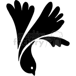 bird 044 clipart. Royalty-free image # 386159