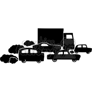 eco traffic pollution 037 clipart. Royalty-free image # 386169