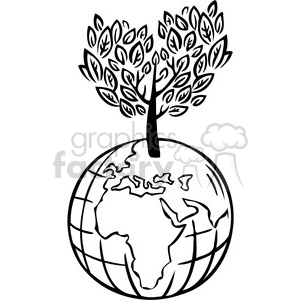 eco environment illustration logo symbols elements earth sustainable energy black+white organic home planet space globe world