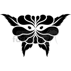 tribal masks vinyl ready art 002 clipart. Royalty-free image # 386428
