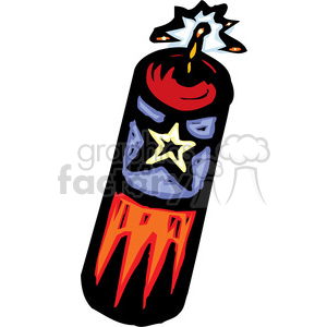 firecracker clipart. Commercial use image # 173698