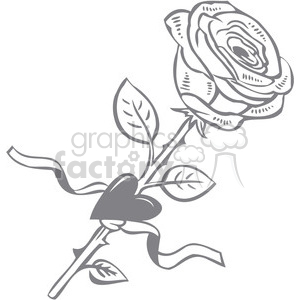 rose clipart. Commercial use image # 386613