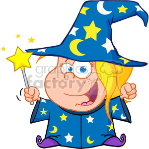 clipart clip art images cartoon funny comic comical wizard magic magical fiction fantasy kid