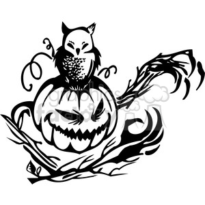 Halloween clipart illustrations 002 clipart. Royalty-free image # 387051