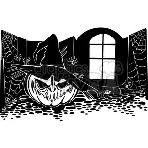Halloween clipart illustrations 041 clipart. Royalty-free image # 387081