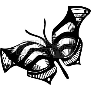 butterfly design clipart. Royalty-free image # 387112