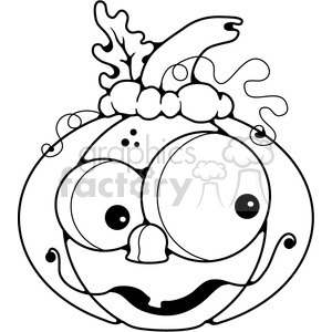 Pumpkin Happy clipart. Royalty-free image # 387242