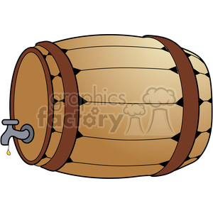 Barrell COL clipart. Commercial use image # 387622