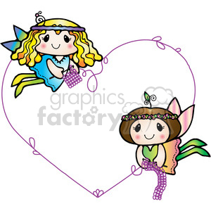 Crochet Fairies clipart. Royalty-free image # 387671