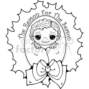 Baby Jesus 03 clipart clipart. Royalty-free image # 387979
