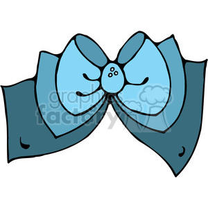 blue Bow 02 clipart clipart. Commercial use image # 388018