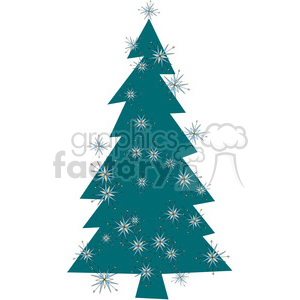 Christmas Tree 02 clipart clipart. Commercial use image # 388054
