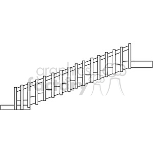 Castle Structure 06 Bridge clipart. Royalty-free image # 388565