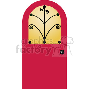 Door 01 clipart. Royalty-free image # 388585
