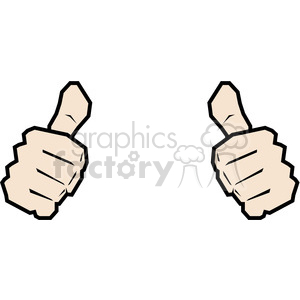 two thumbs up this person image clipart. Royalty-free image # 390033