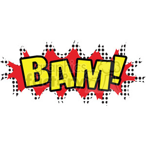 bam onomatopoeia clip art vector images clipart. Royalty-free image # 390073