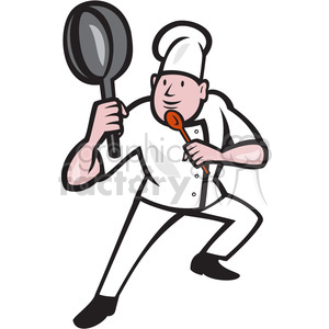 cartoon character mascot people funny chef chefs cook cooking kungfu ninja